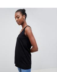 Женская черная майка от Asos Tall