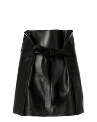 Черная мини-юбка от Saint Laurent