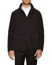 Черная полевая куртка