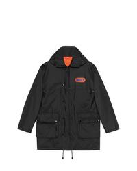 Черная полевая куртка от Gucci