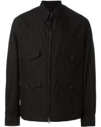 Мужская черная полевая куртка от Lemaire