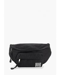 Черная поясная сумка из плотной ткани от Befree