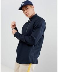 Мужская черная рубашка с длинным рукавом от ASOS DESIGN