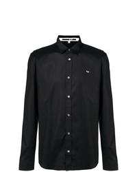 Мужская черная рубашка с длинным рукавом от McQ Alexander McQueen