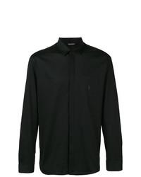 Мужская черная рубашка с длинным рукавом от Neil Barrett