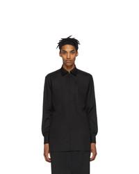 Мужская черная рубашка с длинным рукавом от Random Identities