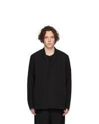 Мужская черная рубашка с длинным рукавом от The Viridi-anne