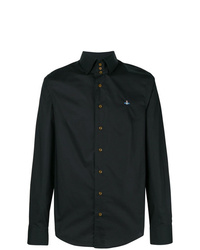 Мужская черная рубашка с длинным рукавом от Vivienne Westwood