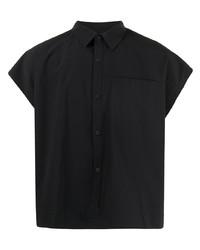 Мужская черная рубашка с коротким рукавом от Off Duty
