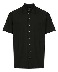 Мужская черная рубашка с коротким рукавом от OSKLEN