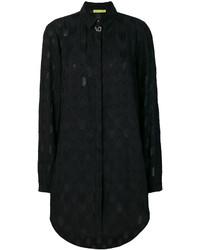 Женская черная рубашка от Versace