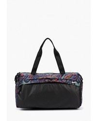 Женская черная спортивная сумка из плотной ткани с принтом от Nike