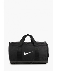 Женская черная спортивная сумка из плотной ткани от Nike