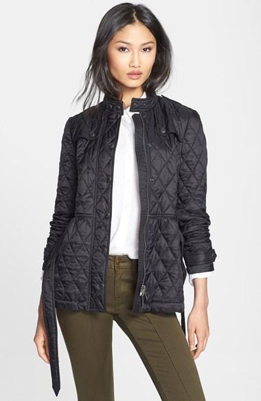 фото куртка стеганая женская