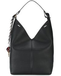 fae07e7f72be Купить женскую черную сумку-мешок - модные модели сумок-мешков (6569 ...