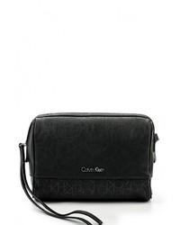 Женская черная сумка через плечо от Calvin Klein Jeans