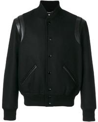 Черная университетская куртка