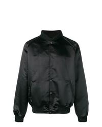 Мужская черная университетская куртка от Billy Los Angeles