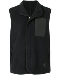 Мужская черная флисовая куртка без рукавов от Kent & Curwen