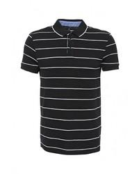 Мужская черная футболка-поло от Baon