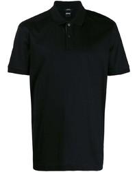 Мужская черная футболка-поло от BOSS HUGO BOSS