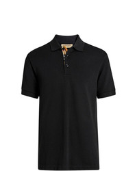 Мужская черная футболка-поло от Burberry