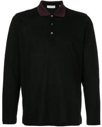 Мужская черная футболка-поло от Cerruti