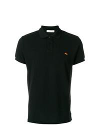 Мужская черная футболка-поло от Etro
