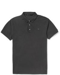 Мужская черная футболка-поло от Marc by Marc Jacobs