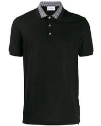 Мужская черная футболка-поло от Salvatore Ferragamo