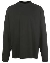 Мужская черная футболка с длинным рукавом от John Elliott