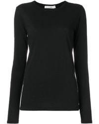 Женская черная футболка с длинным рукавом от Rag & Bone