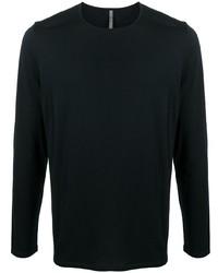 Мужская черная футболка с длинным рукавом от Veilance