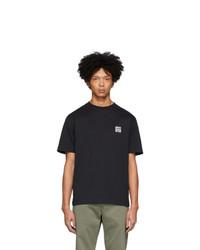 Мужская черная футболка с круглым вырезом от Études
