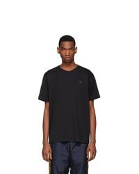 Мужская черная футболка с круглым вырезом от Acne Studios