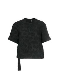 Женская черная футболка с круглым вырезом от Calvin Klein 205W39nyc