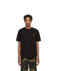 Мужская черная футболка с круглым вырезом от CARHARTT WORK IN PROGRESS