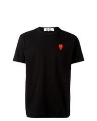 Мужская черная футболка с круглым вырезом от Comme Des Garcons Play