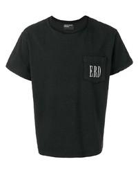 Мужская черная футболка с круглым вырезом от Enfants Riches Deprimes