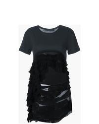 Женская черная футболка с круглым вырезом от Haider Ackermann