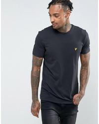 Мужская черная футболка с круглым вырезом от Lyle & Scott