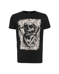 Мужская черная футболка с круглым вырезом от Medicine