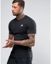 Мужская черная футболка с круглым вырезом от Nike