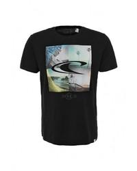 Мужская черная футболка с круглым вырезом от O'Neill