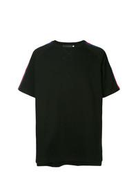 Мужская черная футболка с круглым вырезом от Off Duty
