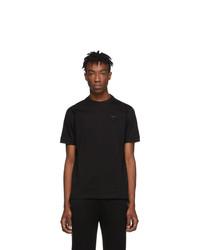 Мужская черная футболка с круглым вырезом от Prada