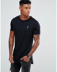 Мужская черная футболка с круглым вырезом от Religion