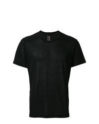 Мужская черная футболка с круглым вырезом от Rick Owens