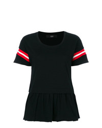 Женская черная футболка с круглым вырезом от Steffen Schraut
