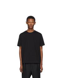 Мужская черная футболка с круглым вырезом от Versace